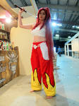 Erza Scarlet (Fairy Tail) Mantova Comics 2019 by Groucho91