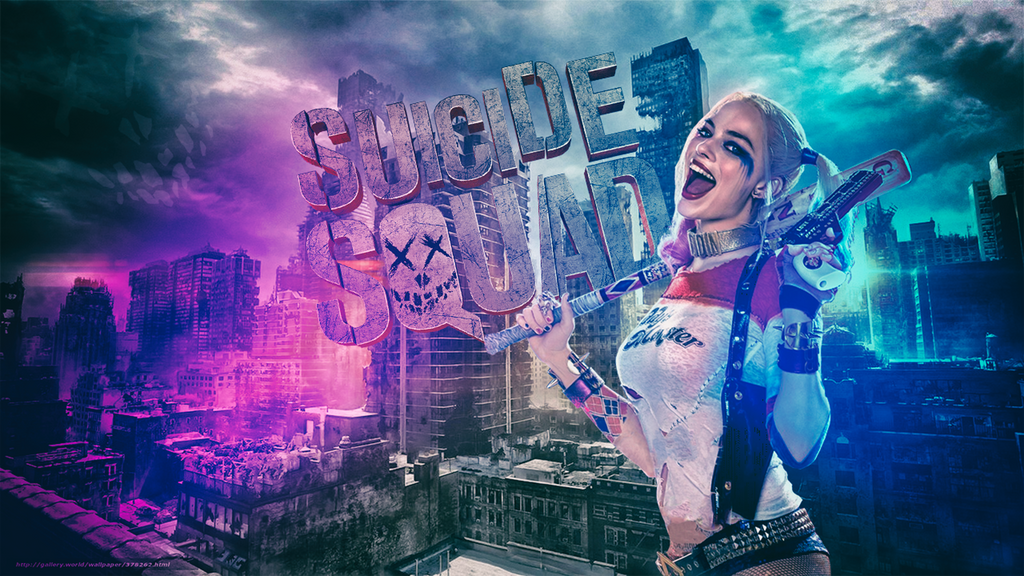 Suicide Squad Wallpaper HD / Harley Quinn / By
