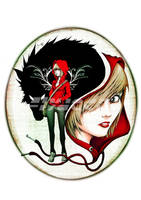 The Modern Red Riding Hood by FlyDeco