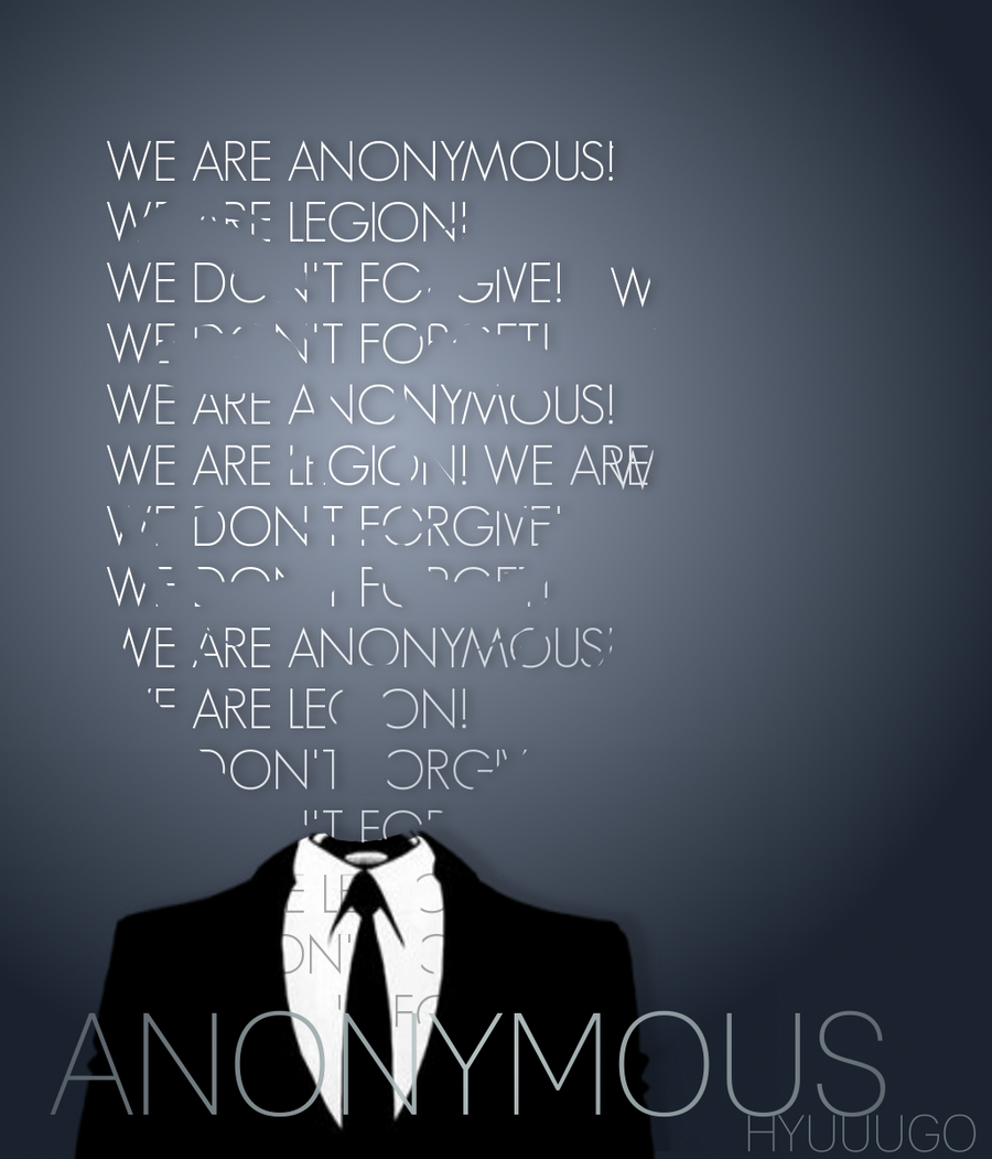 Anonymous Virtual War by Hyuuugo