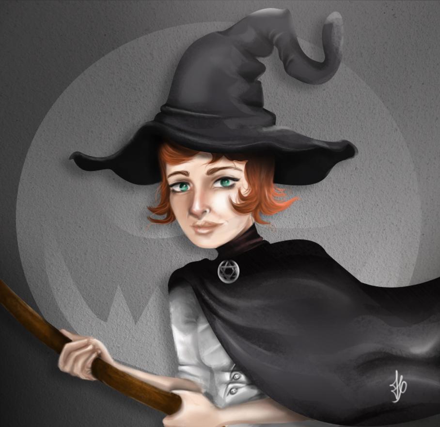 Halloween-Witch by Hyuuugo