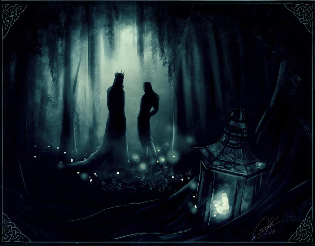 Forgotten lantern by Kinko-White