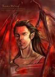 Smaug the Dragon by Kinko-White