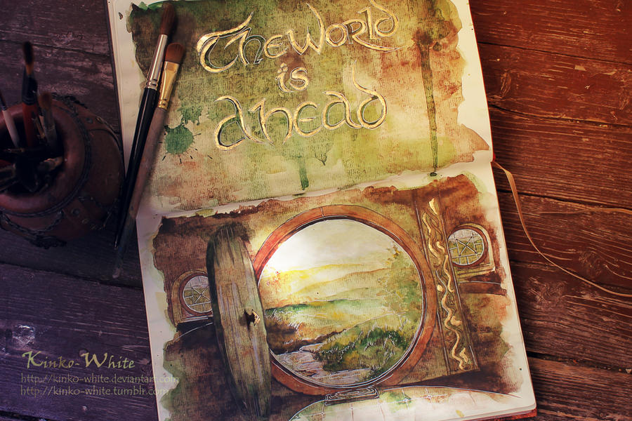 The world is ahead... by Kinko-White