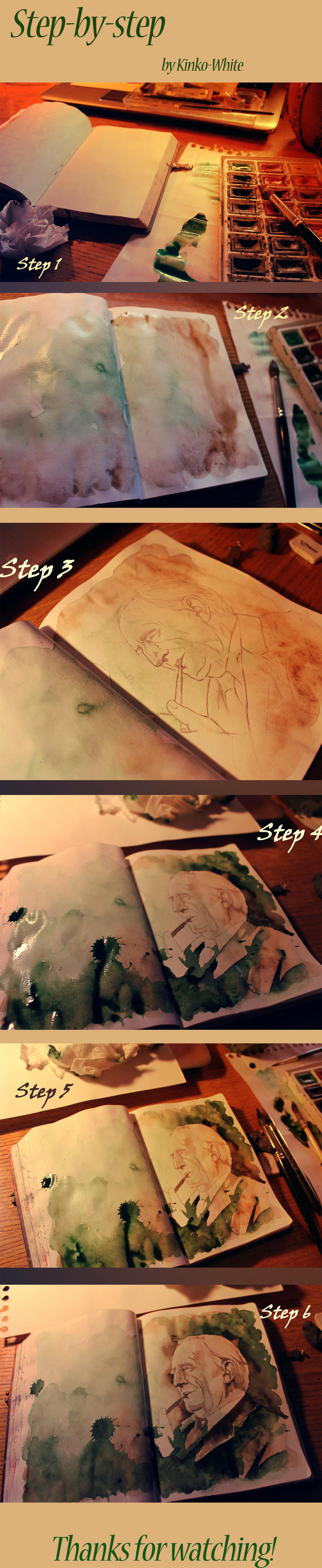 Step-by-step by Kinko-White
