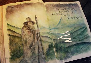 Gandalf the Grey by Kinko-White