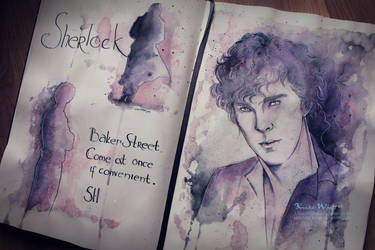 Sherlock. Study in Purple by Kinko-White