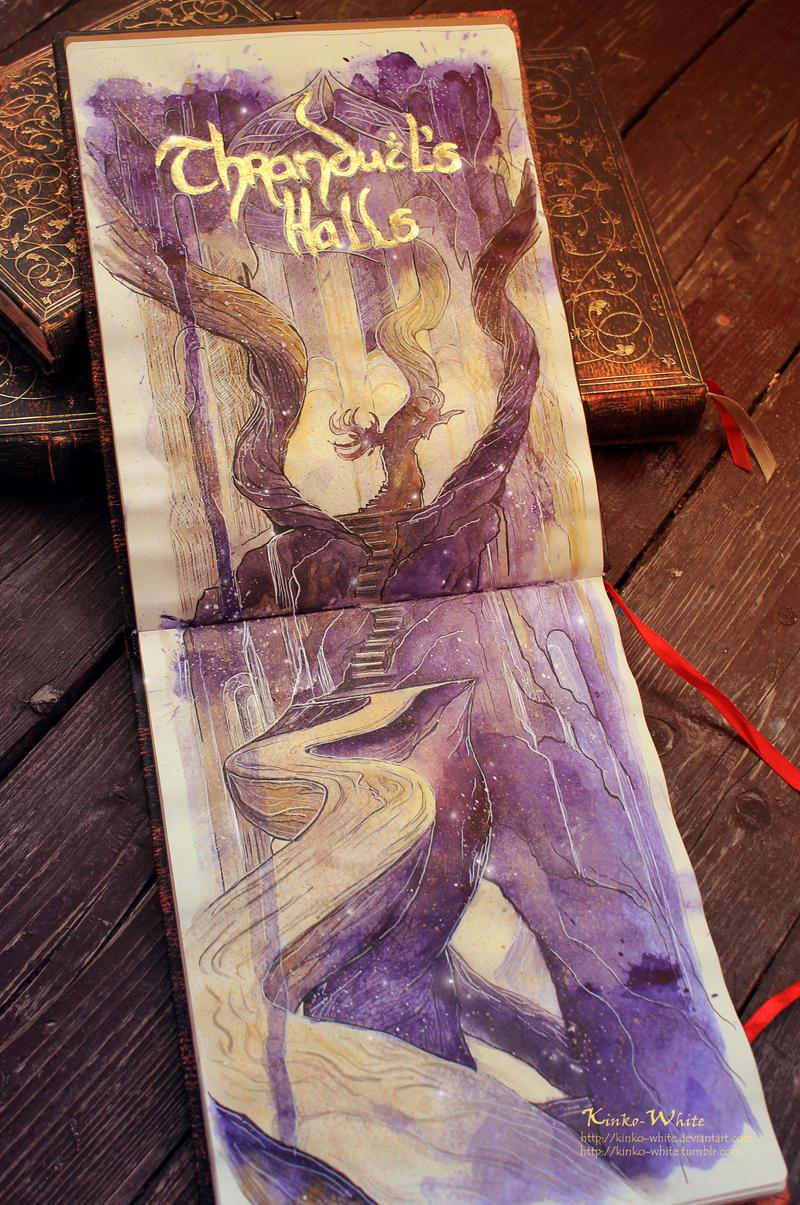 Elvenking's Halls by Kinko-White