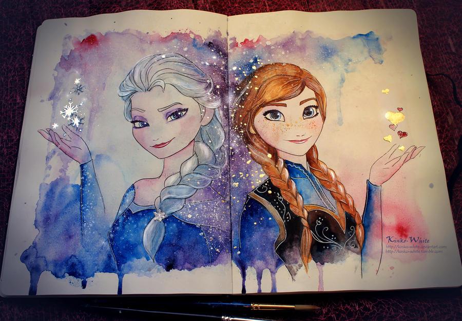 Sisters by Kinko-White