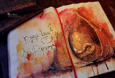 Dragon by Kinko-White
