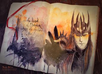 Sauron by Kinko-White