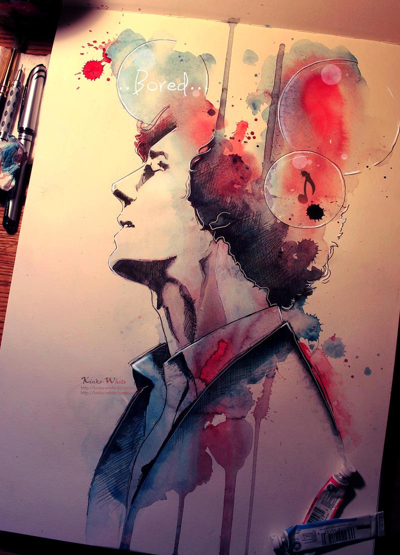 ...bored by Kinko-White