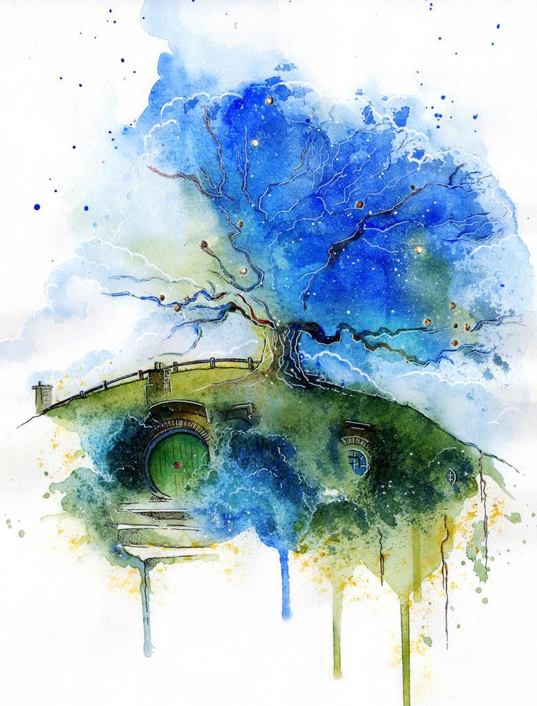 Oak Tree by Kinko-White