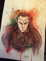 Lord of Rivendell by Kinko-White