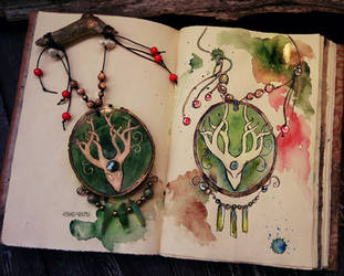 Forest Spirit Amulet