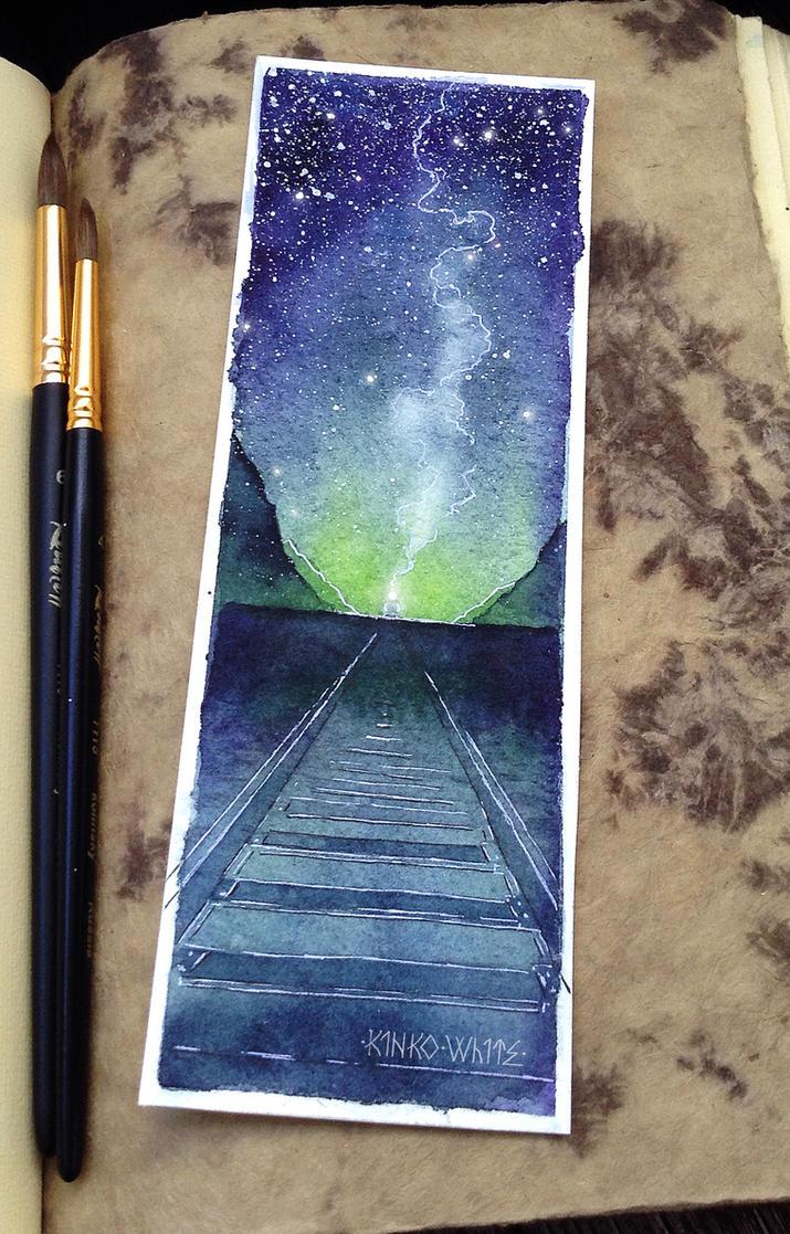 Night train by Kinko-White