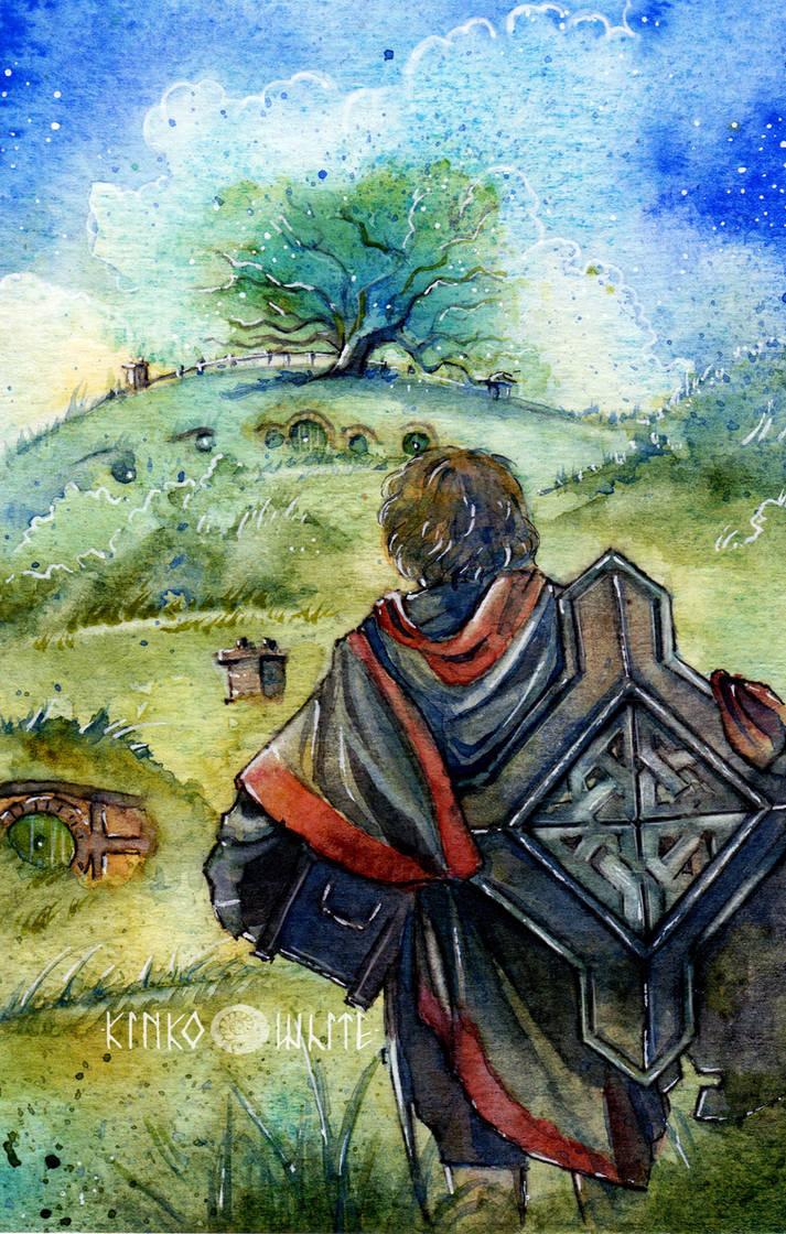 Bilbo: Back again... by Kinko-White