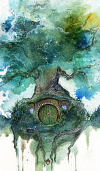 Oak Tree by Kinko-White