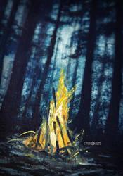 fire by Kinko-White