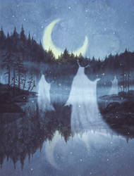 The Dancing Fog Spirits