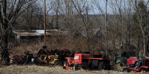 Lawnmower Graveyard by verymoon