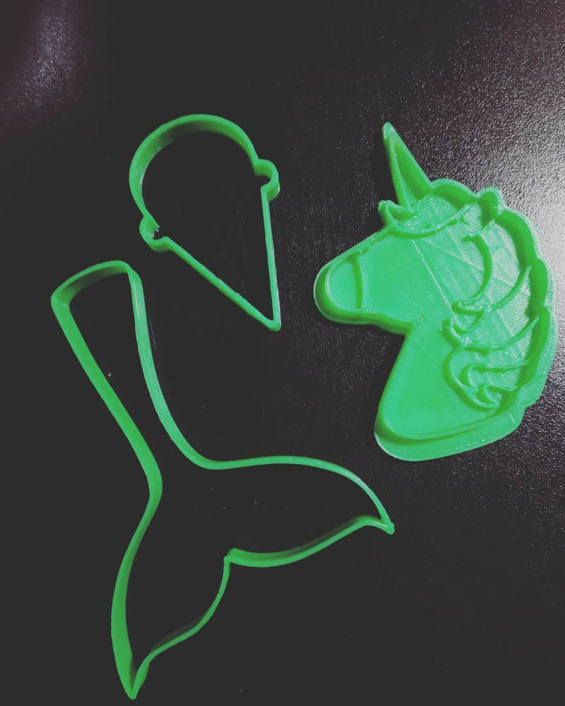 3D cookie cutters  by Lisa99