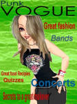 Punk Vogue Magazine cover