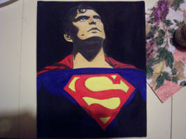 Christopher Reeves as Superman by Lisa99