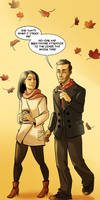 Elementary: Joan and Sherlock