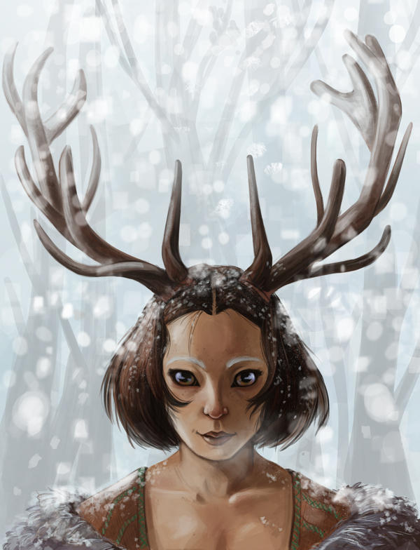 Stag Woman: Finished