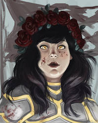 Warrior Queen by ladymadeofglass