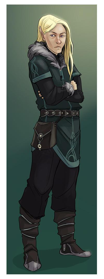 Elf character design