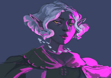 Purple Night by ladymadeofglass