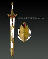 Sword and Shield of Hope (AUCTION OPEN) by pr0x1ma