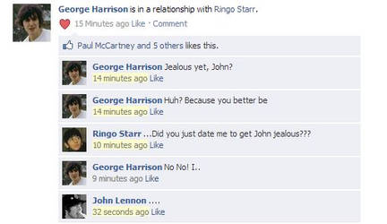 Beatles Facebook | Oh Good Lord, George by irishm8