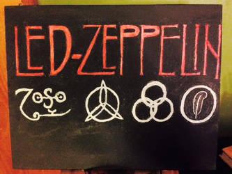 led zeppelin - logo. by irishm8