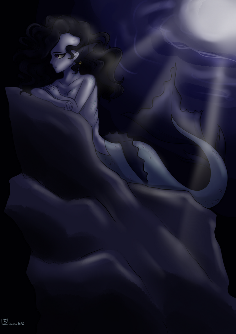 Mermay day2 'oneiric' by A-Little-Blue-Gem