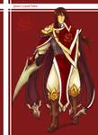 Queen's  Guard Talon (original fanskin)