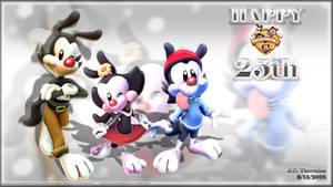 Happy 25th Animaniacs!!! by JCThornton