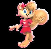 +3D Model Download+ Shauna The Squirrel