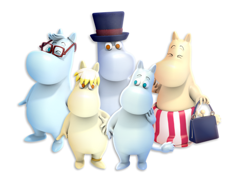 +3D Model Download+ The Moomins