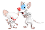 +3D Model Download+ Pinky and The Brain