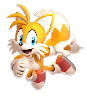 +3D Model Download+ Miles Tails Prower