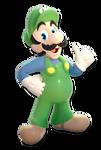 +3D Model Download+ SMBSS Luigi