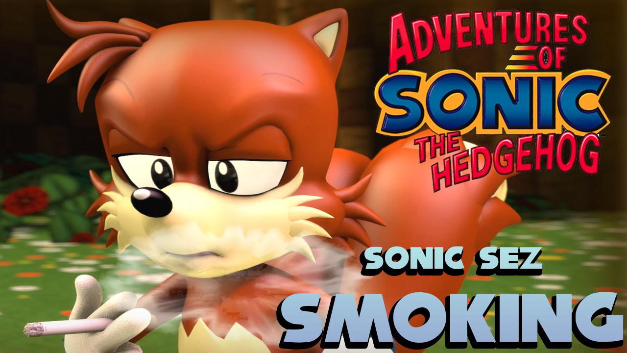 Sonic Sez - Smoking [SFM]