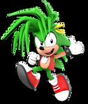 +3D Model Download+ Manic The Hedgehog