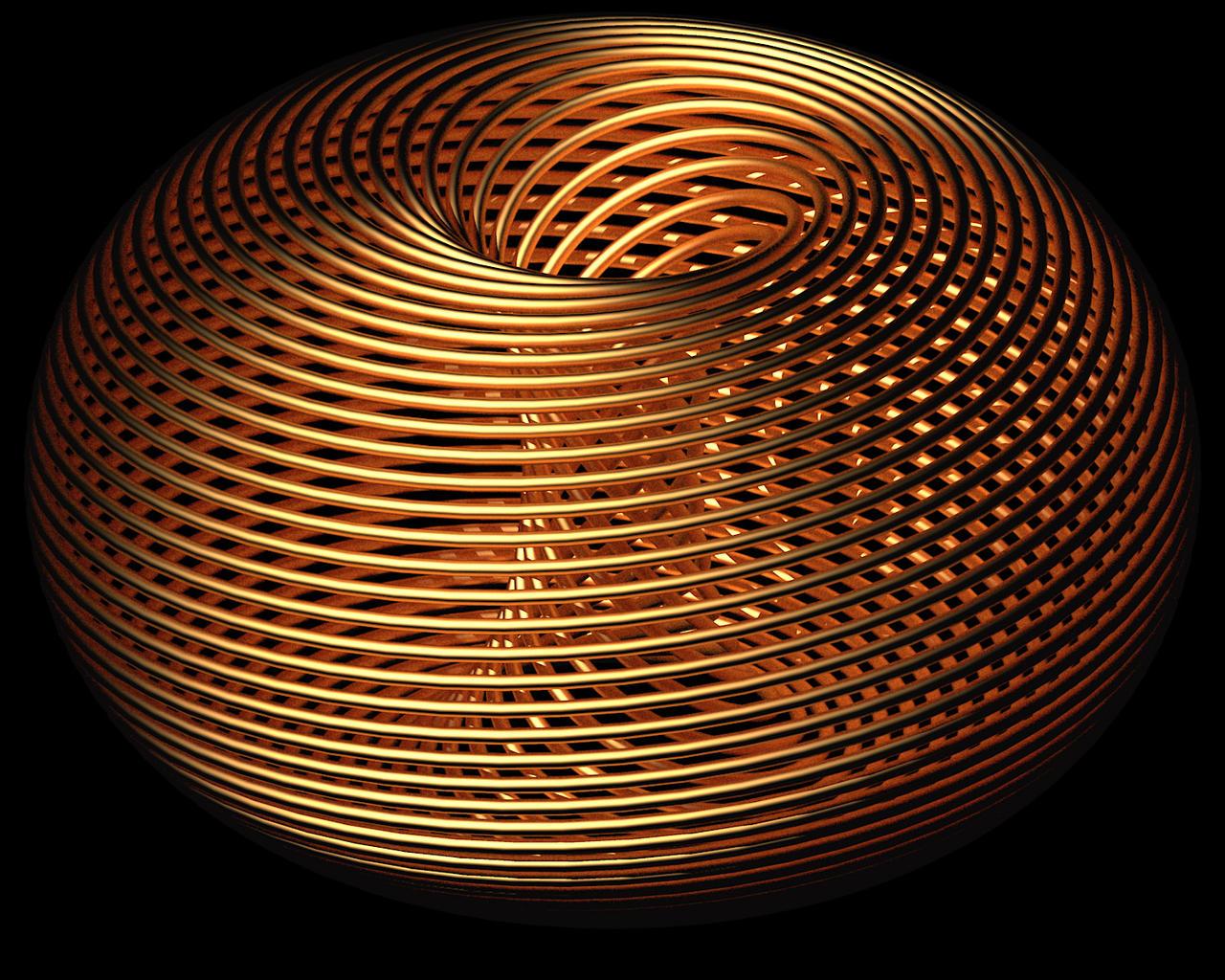 Spiral Torus by TaffGoch
