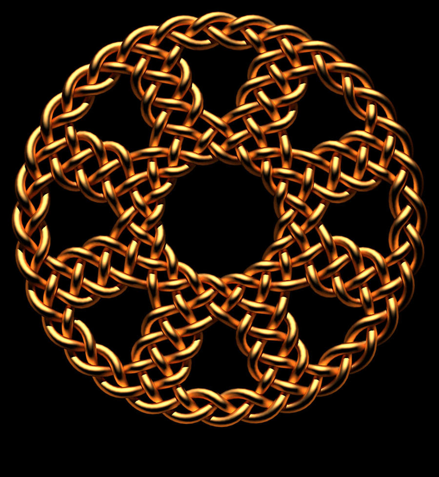 'Cornish wheel' knot by TaffGoch