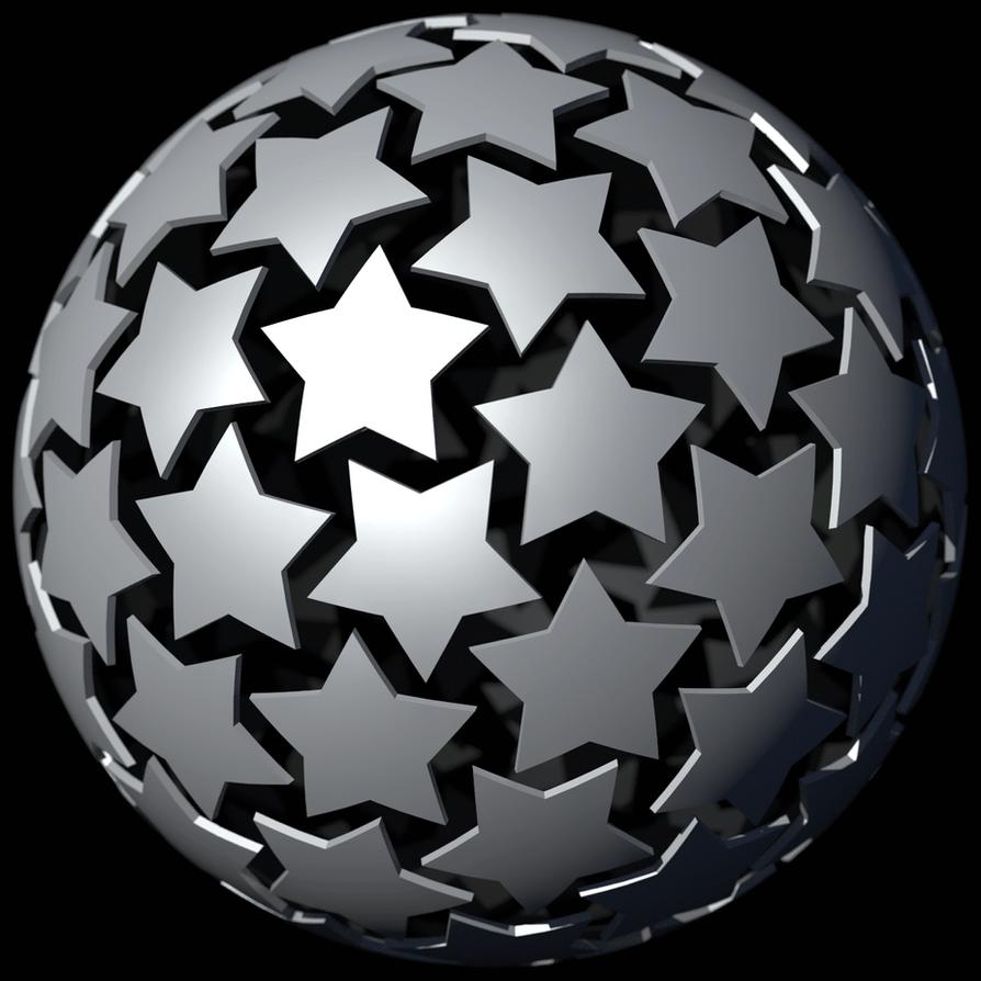 Star packing study by TaffGoch