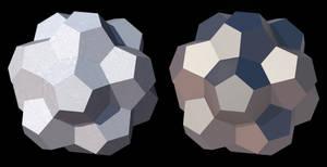 Truncated Triacontahedron by TaffGoch